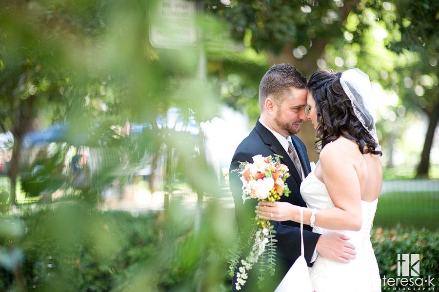 downtown Sacramento wedding pictures