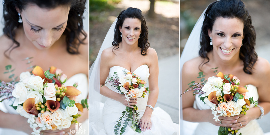 downtown wedding portraits in Sacramento