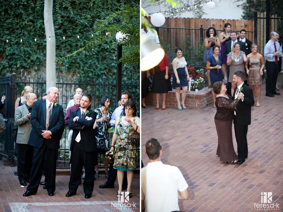Wedding at Courtyard D'Oro by Sacramento Wedding photographer Teresa K