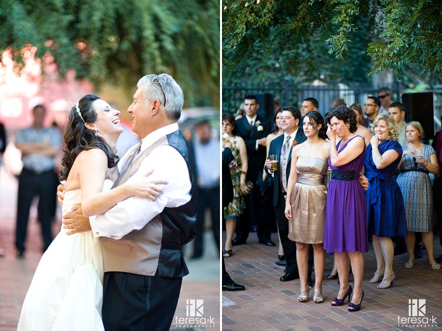 Party at Courtyard D'Oro by Teresa K, Sacramento wedding photographer