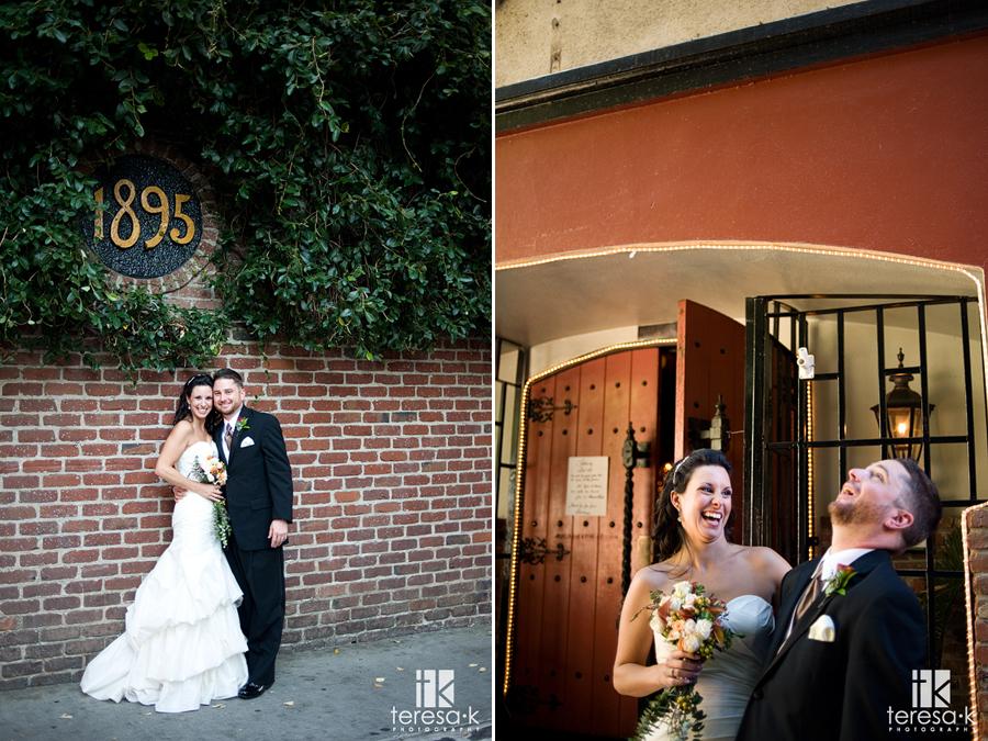 Downtown Sacramento reception by Sacramento Wedding photographer Teresa K