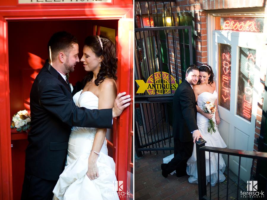 Downtown Sacramento wedding by Sacramento Wedding photographer Teresa K