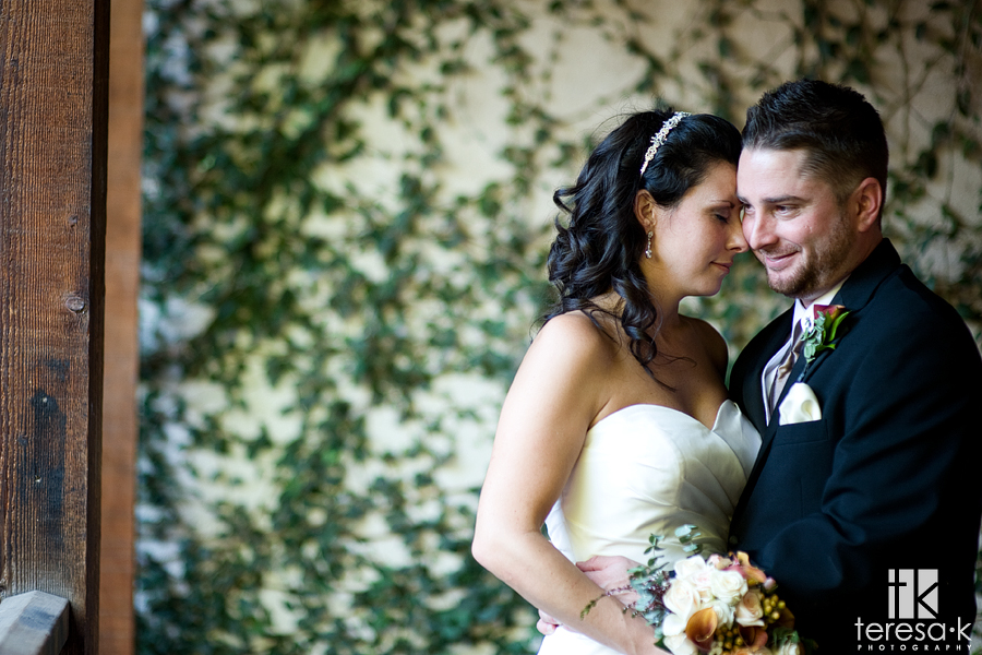 Downtown wedding portraits by Sacramento Wedding photographer, Teresa K