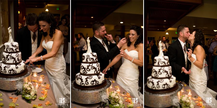 Downtown Sacramento wedding and reception at the Courtyard D'Oro by Sacramento Wedding photographer Teresa K