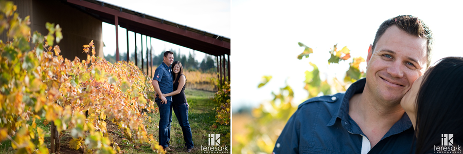 Madrona Vineyards engagement session in Apple Hill California