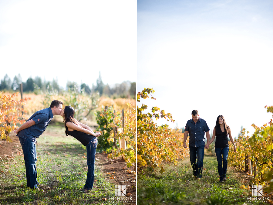 Northern California winery session at Madrona Vineyards in Apple Hill California