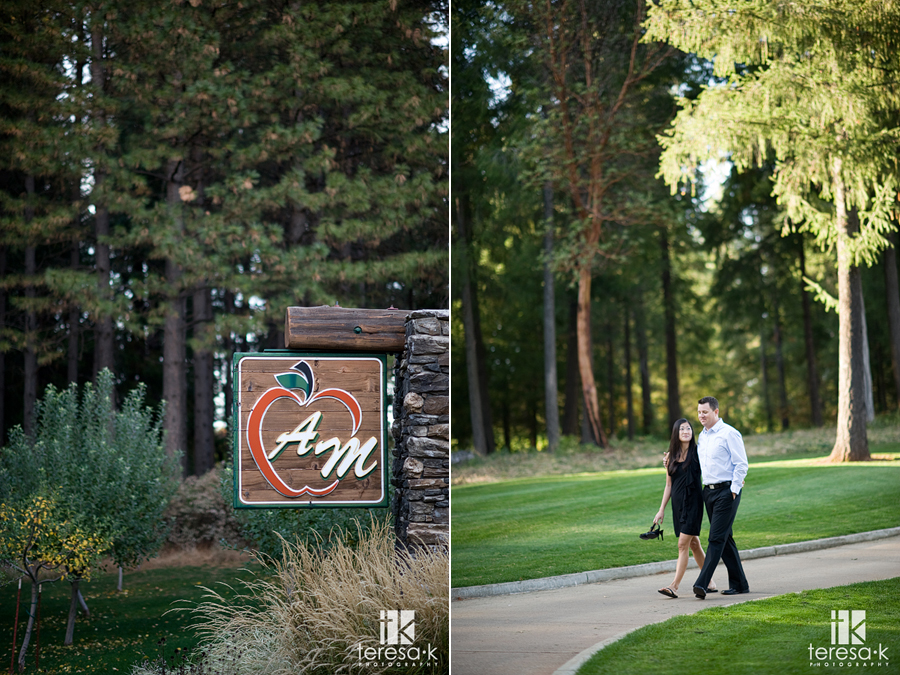 Foothill locations for engagement sessions in Northern California