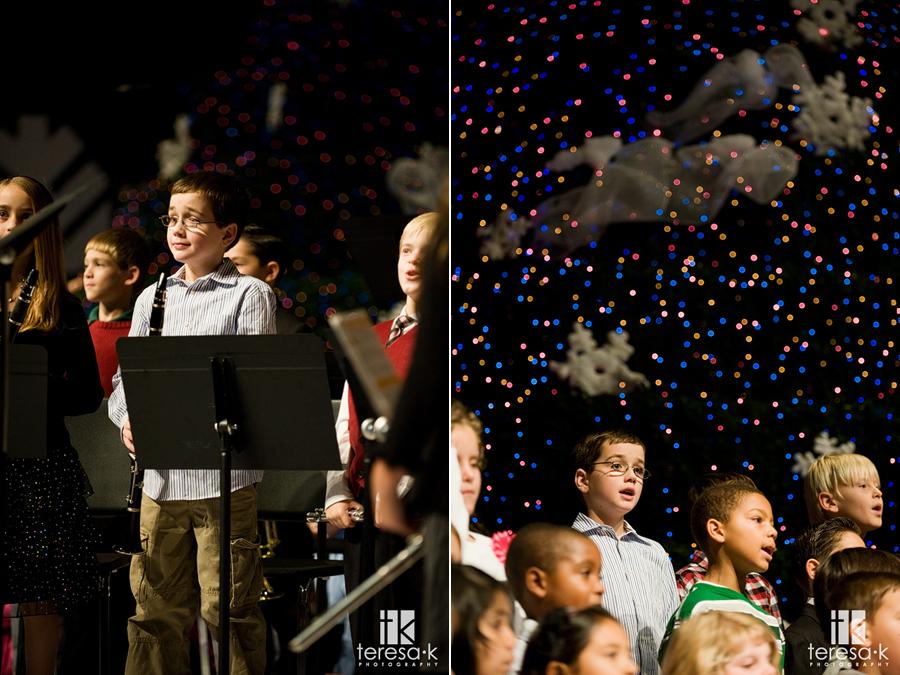 Children's Christmas Program at Capital Christian Elementary school