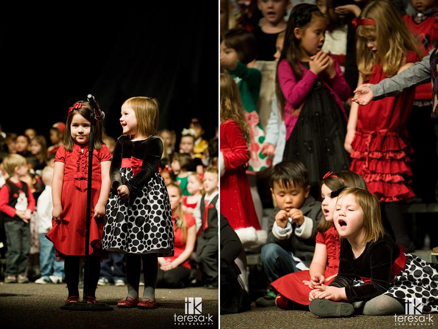 Children's Christmas Program at Capital Christian preschool