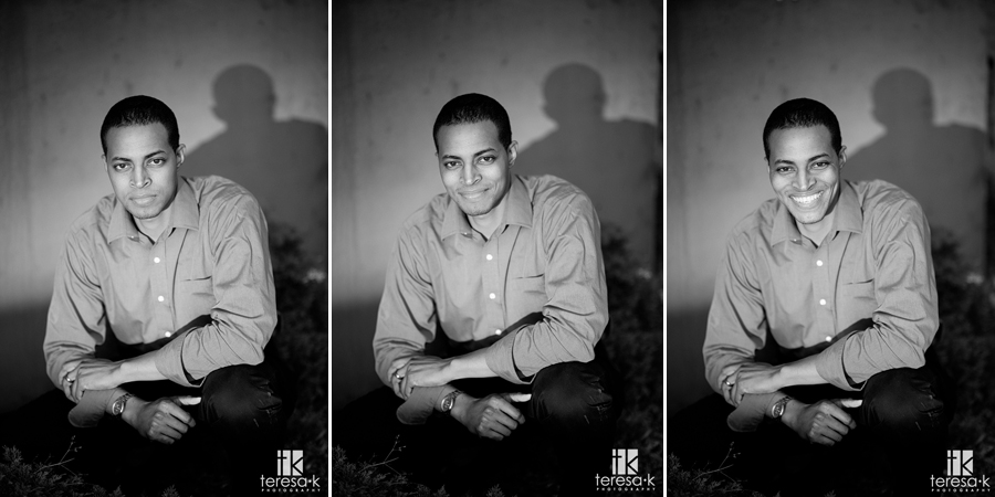 Fall midtown Sacramento portrait session for local videographer Jonathan Knox