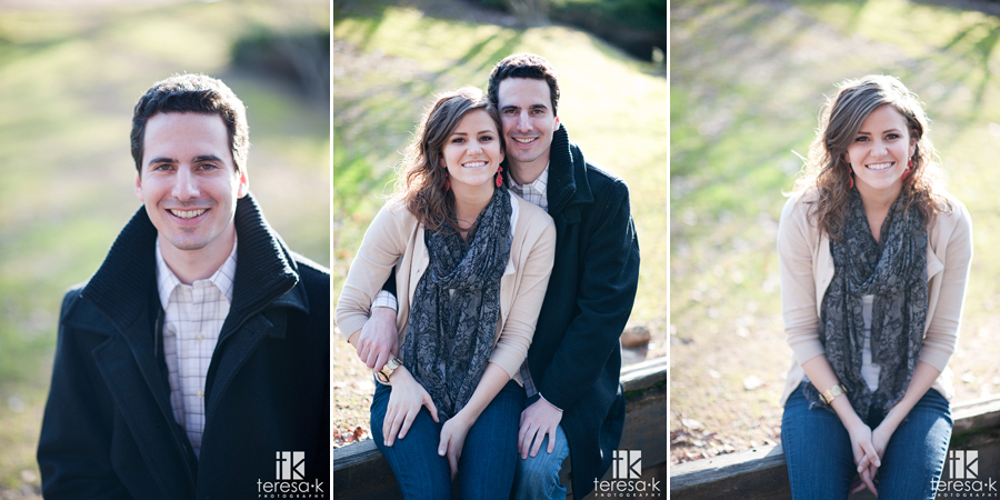 Amador county winery engagement session at Terra d'Oro winery in Amador county.