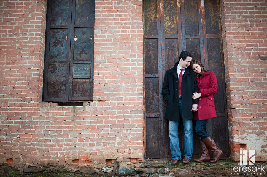 Gold country winery engagement session at Terra d'Oro winery in Amador county.