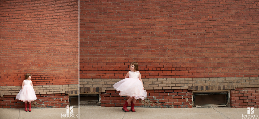 small town portrait session