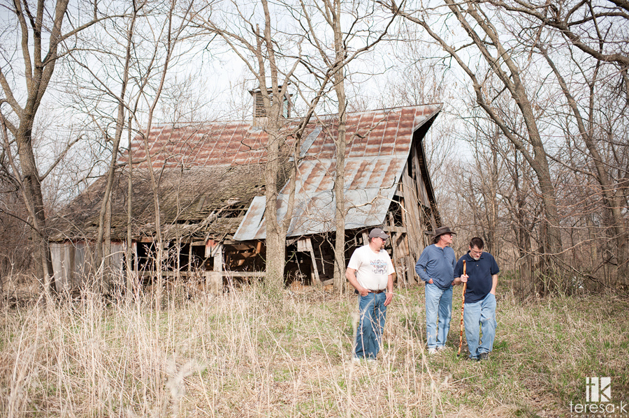 the Missouri house he grew up in