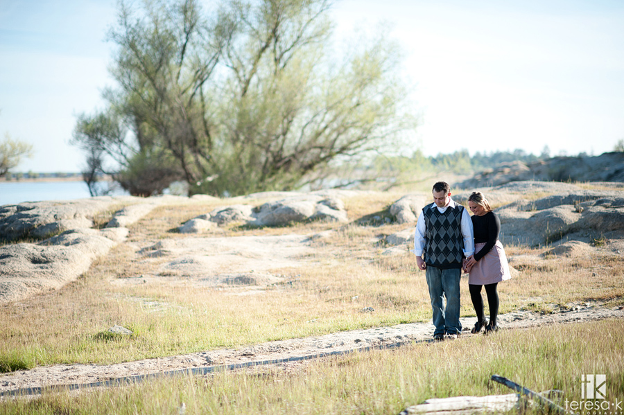 engagement session by Folsom Photographer, Teresa K