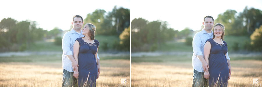 engagement session at Folsom Lake