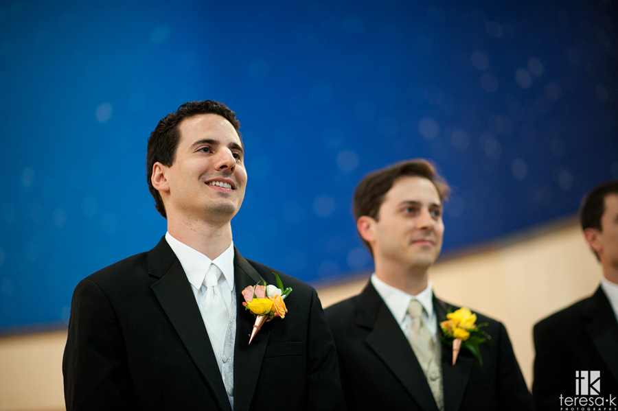 traditional catholic wedding ceremony in Sacramento
