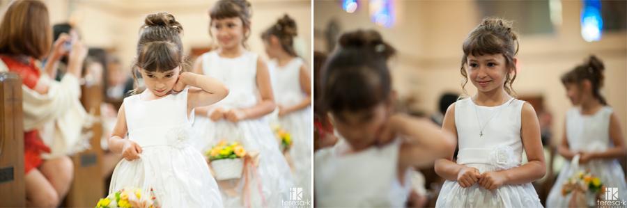 lovely catholic wedding ceremony in Sacramento, California
