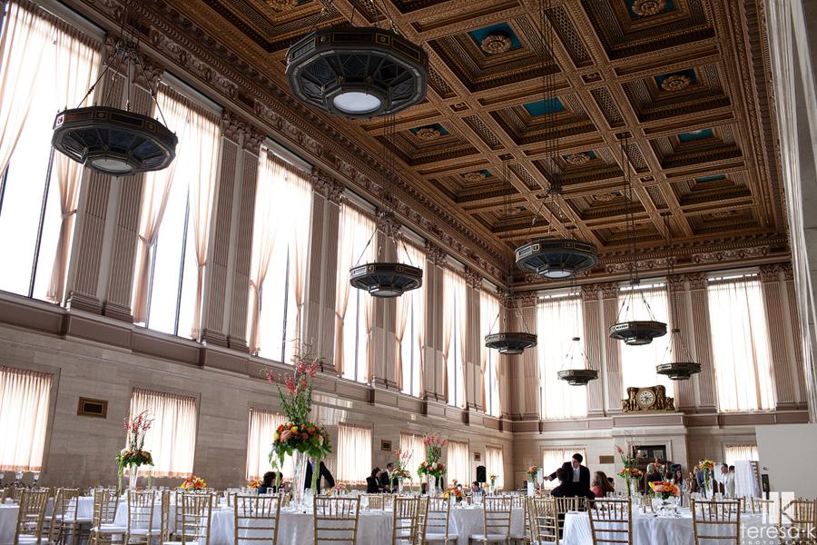 event architects Sacramento grand ballroom wedding