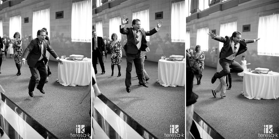 crazy dancing fun at the grand ballroom