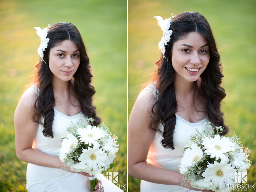 bridal portraits from lions gate wedding in Sacramento