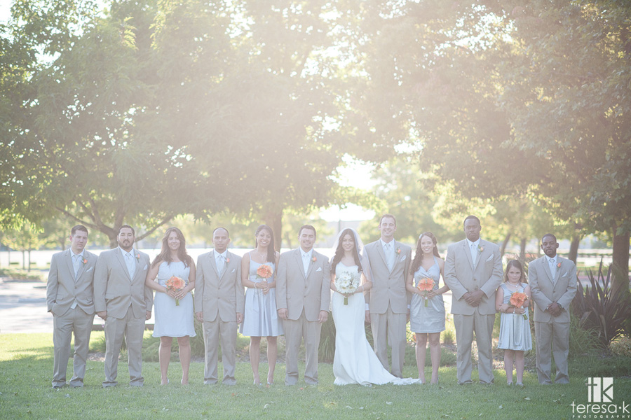wedding at the General's Garden in North Highlands