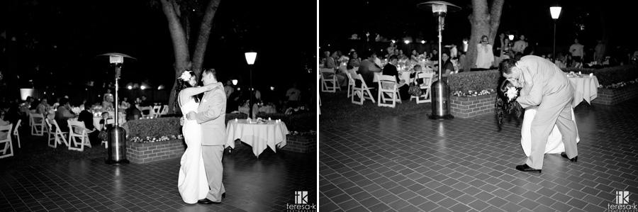 wedding at the General's Garden in Sacramento