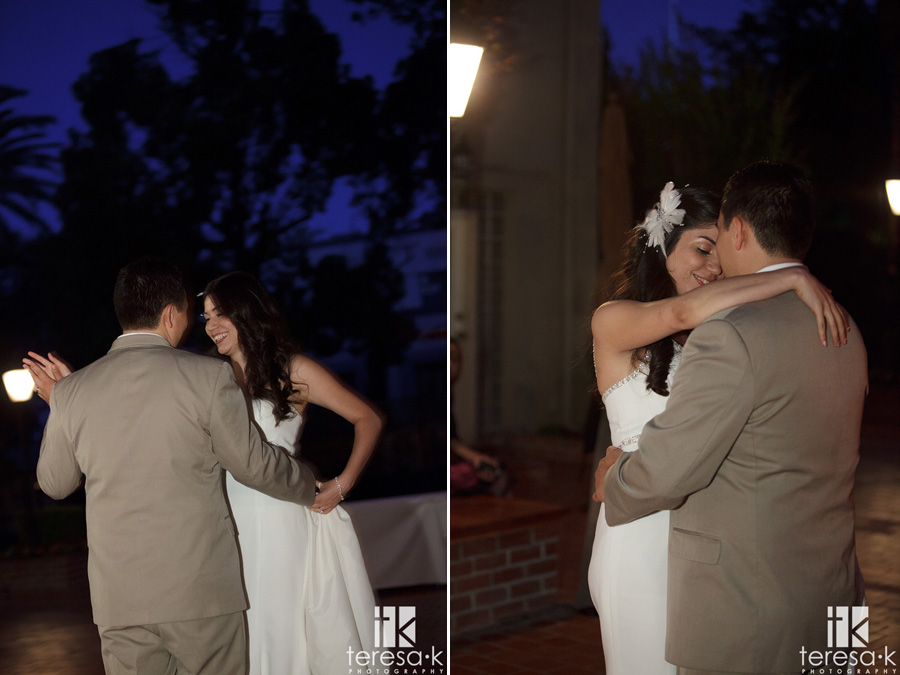 dancing at a Lions Gate Hotel and Conference Center Wedding