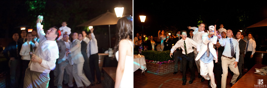 night time reception images at the lions gate hotel in North Highlands
