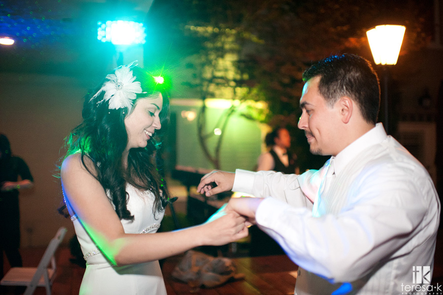 Lions Gate Hotel and Conference Center spring night Wedding