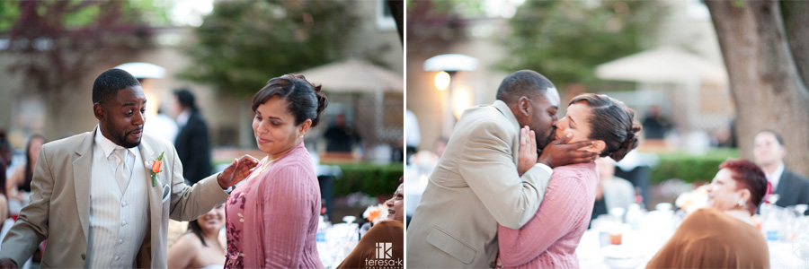 the wedding kissing game reception ideas