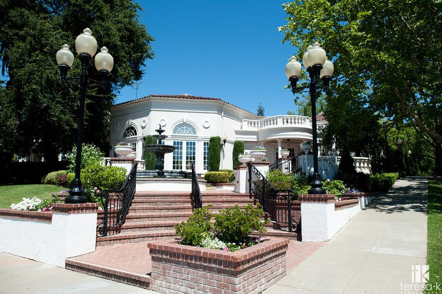 Wedding at the Vizcaya Pavilion & Mansion in Sacramento, California