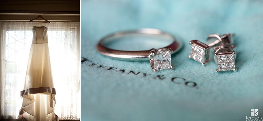 Tiffany Ring from Sacramento wedding at the Vizcaya