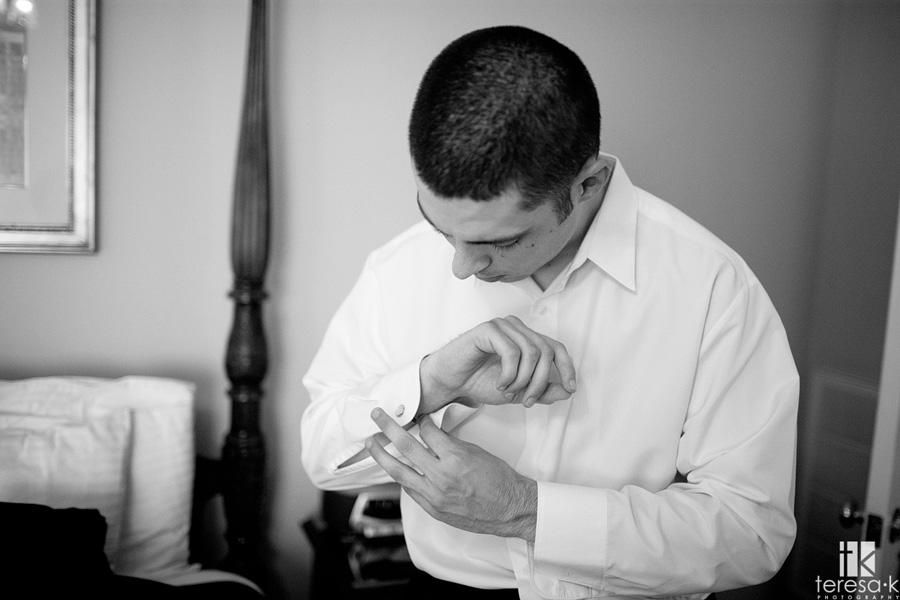 groom wedding image from Sacramento wedding photographer