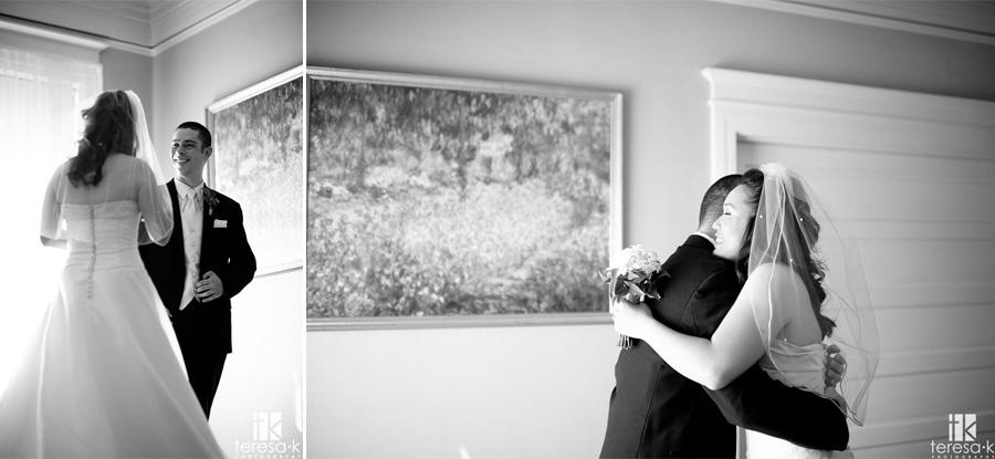 indoor images from wedding in Sacramento
