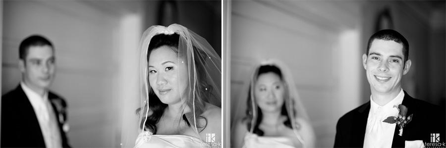 bridal portrait by Sacramento wedding photographer, Teresa K