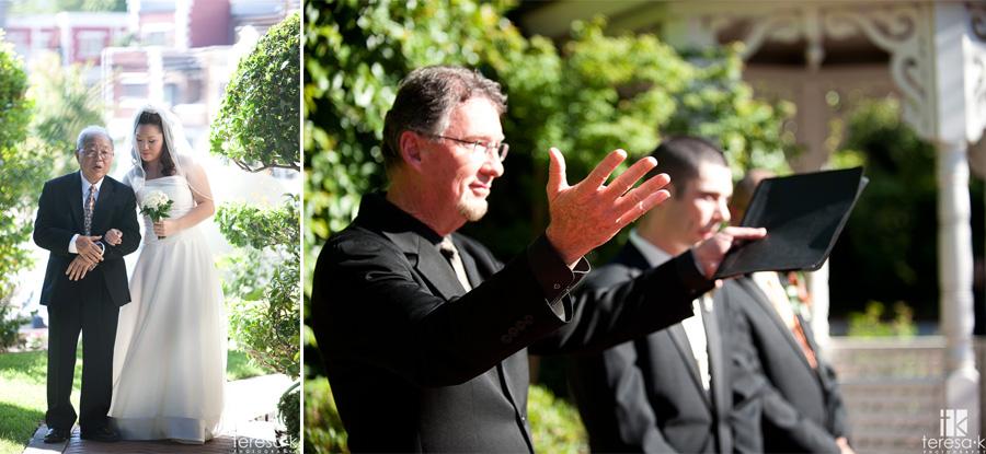 outdoor wedding in July at the vizcaya