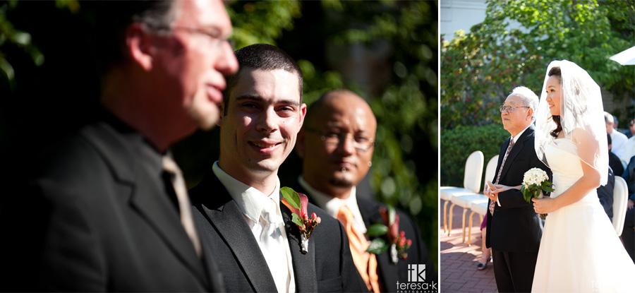 summer weddings in Sacramento at the vizcaya