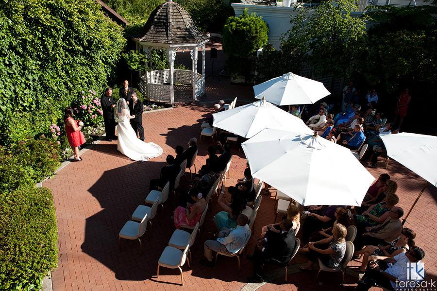 outdoor wedding in Sacramento