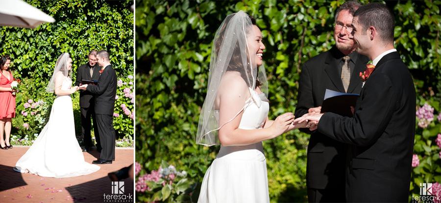 hot summer weddings in Sacramento