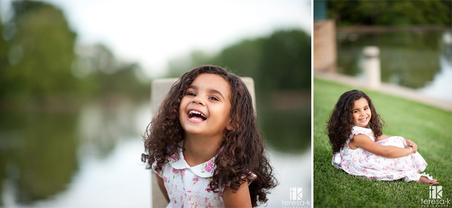 happy children in natural settings by Folsom photographer
