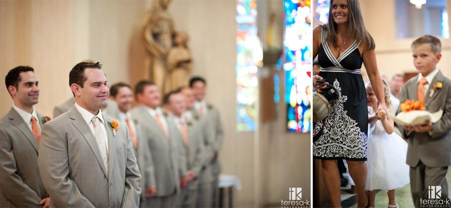 st Mary's church wedding in Sacramento