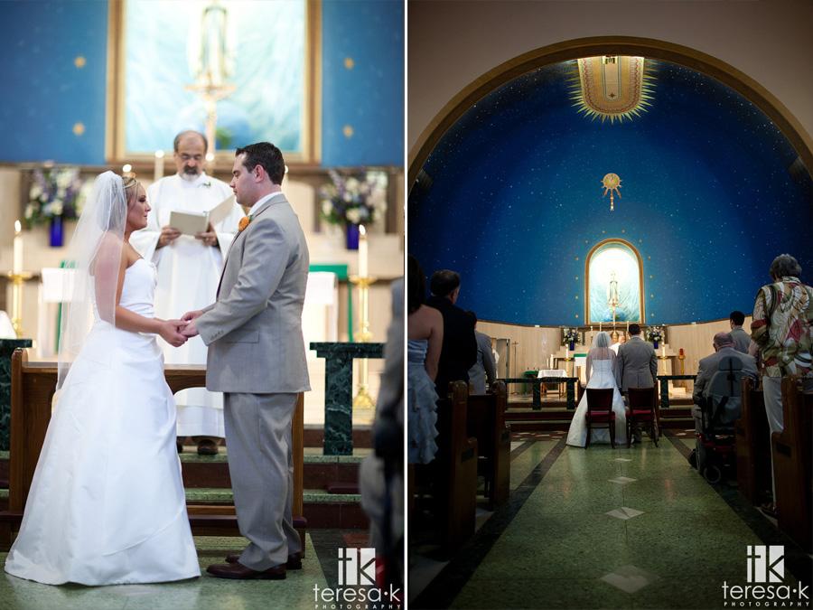 saint Mary's church wedding