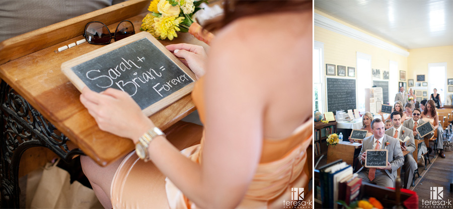 wedding images from the old Sacramento schoolhouse