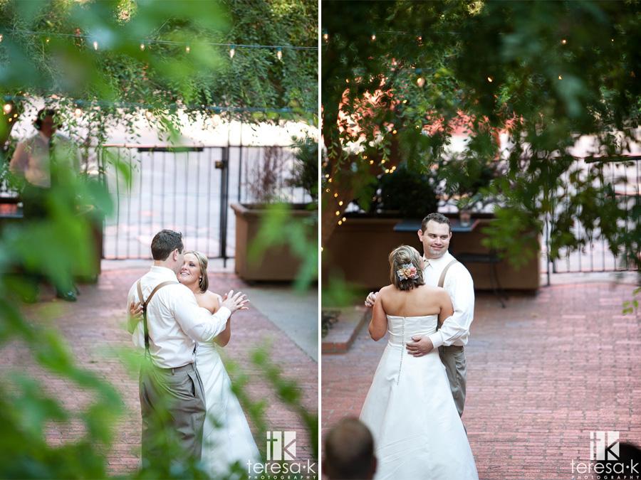 courtyard D'Oro wedding photography
