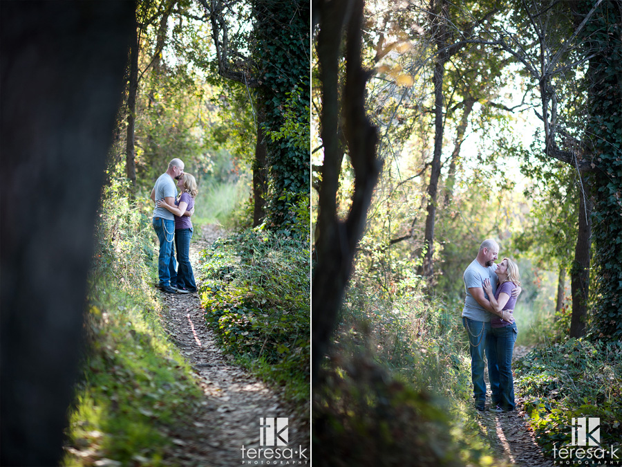 engagement session in Folsom by Teresa K