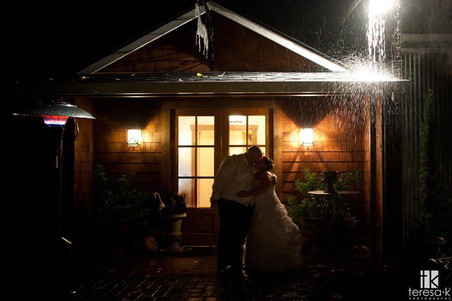 rainy wedding photographers