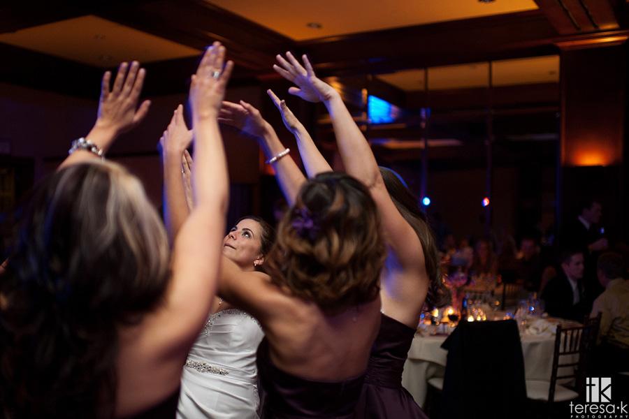 dancing bride at reception