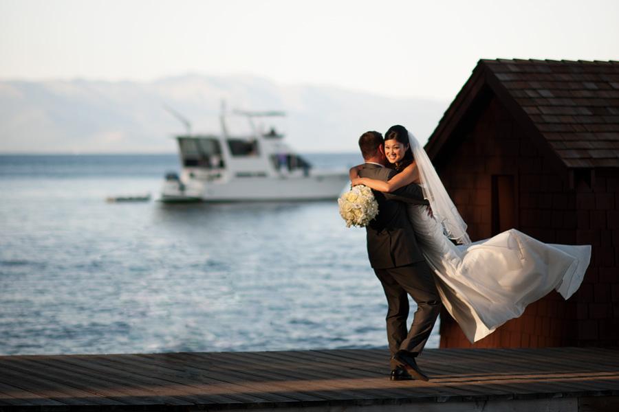 fun loving natural wedding images