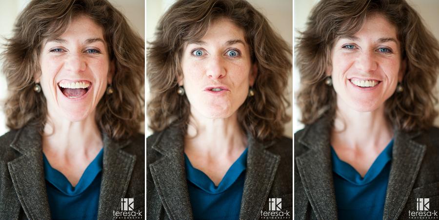 fun portraits crazy faces